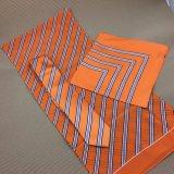 100% artesanais tecidos de seda gravata de logotipo com lenço de correspondência