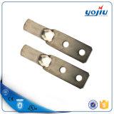 Cosse bidon sertissante de cuivre de câble de doubles trous