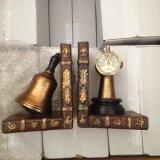 Serre-livres de bille de bureau de métier de Polyresin pour la décoration à la maison