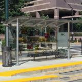 Het aangepaste Ontwerp van de Schuilplaats van de Bushaltes van het Meubilair van de Straat van de Reclame