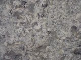 Résistant aux températures élevées de quartz de texture de marbre dalles de pierre