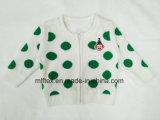 子供のための緑ポイントセーター