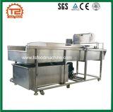 Equipamento de processamento de vegetais pepino em máquina de lavar roupa e máquina de corte