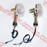 Gn125를 위한 기관자전차 부속 Winker 고정되는 LED 빛 고정되는 도는 램프