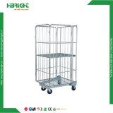 Wire Mesh pliable conteneur pour l'entrepôt de la cage de roulement