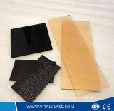 Colorato/ha tinto/vetro calcolato collegato decorativo/del forno vetro a prova di proiettile di ceramica piegato temperato vuoto