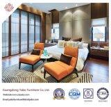 Стильная мебель спальни гостиницы при древесина обеспечивая для сбывания (YB-S-19)