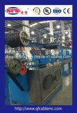 Linha de produção coaxial Micro-Fina da extrusão do fio e de cabo do Teflon