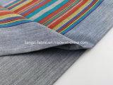 Los hilados de algodón teñido Slub Stripe tejido Shirt-Lz7711