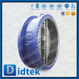 Válvula de verificação dupla da bolacha da placa de Didtek API 6D Wcb