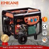 Le petit pouvoir 5kw autoguident le générateur d'essence avec Stater électrique (6500AE)