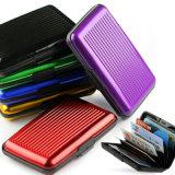 De Houder van de Creditcard van de Portefeuille van het Aluminium RFID