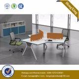モジュラーパネルの家具のオフィスのPatitionのオフィスのキュービクルのオフィスワークステーション(UL-NM029)