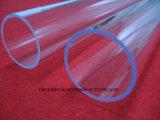 A resistência ao calor Tamanho pequeno fornecedor de tubos de vidro de quartzo transparente