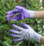 13 перчатки предохранения от работы сада датчика резиновый