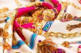 Klassisches leichtes Digital-Drucken-Silk Twill-Schal