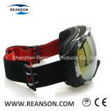 Lunettes UV compatibles de neige de coupure de casque de constructeur