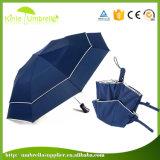 Commercio diretto del fornitore che fa pubblicità all'ombrello piegante di prezzi poco costosi