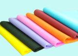 소파/매트리스/침대 덮개를 위해 방연제 회전된 접착된 비 길쌈된 직물