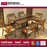 La vida moderna habitación Hotel Restaurante de mesa de comedor Muebles de madera (CH-633)