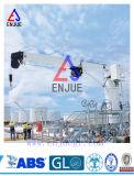 el auge telescópico marina del nudillo de los 3t-15m Cranes la grúa marina hidráulica de la nave