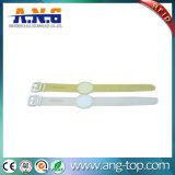 Прозрачный Wristband силиконовой резины RFID