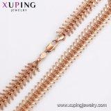 Moda Cool 44673 oro rosa Collar de Joyas de acero inoxidable