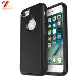Пользовательские /черного цвета розовый цвет логотипа печати силиконовый чехол для iPhone 6/iPhone7 /iPhone8/ мобильный телефон (XY-PA-2)