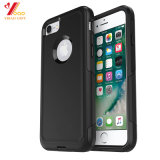 Personalizar a impressão de cor-de-rosa/preto de silicone de Logotipo iPhone 6/iPhone7 /iPhone8/ Telemóvel caso (XY-PA-2)