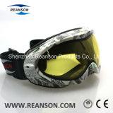 Doubles lentilles à extrémité élevé ajustées au-dessus des lunettes en verre de mobile de neige