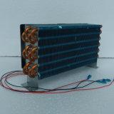 Purswave Cp4X6X240 소형 2PCS 120X120 축 팬을%s 가진 공기에 의하여 냉각되는 콘덴서 동관 알루미늄 탄미익 증발기