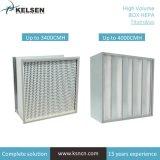 De Filter van de Lucht van de Bank HEPA van de Daling van de Lage Druk van de Filtratie van de Lucht van het Systeem HVAC H13 H14 U15 V