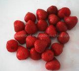Conservas de morango em calda ou conservas de frutas