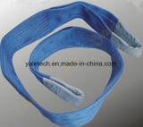 Imbracatura di sollevamento piana della tessitura del poliestere/cinghie di sollevamento della cinghia