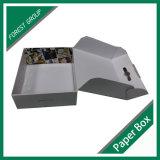 Rectángulo de envío acanalado con la maneta plástica