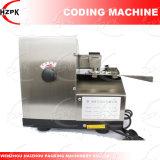 Máquina de la codificación de la impresora de tinta sólida para el plástico de papel