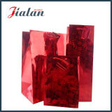 Sacs en papier rescellables estampés de estampage chauds de cadeau bon marché fait sur commande