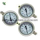 La gama personalizada Manómetro de presión de acero inoxidable