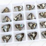 Les coupures sensibles du diamant Dz-3012 noir desserrent l'élément en cristal