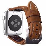 Appleの時計バンドの置換シリーズのための優れた革時計バンド、1/2/3 42/38