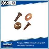 青銅色の接続のために機械で造る精密CNC