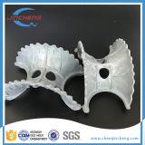 Toren die van het Zadel Intalox van het polypropyleen (pp) de Super Plastic Super Willekeurige Ceramisch Metaal inpakken