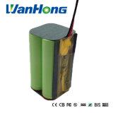 18650 bateria recarregável de 7.4V 5200mAh para a lâmpada