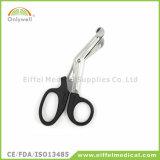 La garza medica della fasciatura del pronto soccorso dell'acciaio inossidabile Scissor