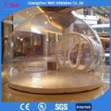 明確で膨脹可能なドームの屋外の透過泡テントのキャンプテント装置