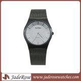 Großhandelsuhren der dame-Form, neueste Armbanduhr, Edelstahl-Uhr