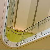 Glastreppe befördert Glasgeländer für Treppe mit der Eisenbahn