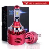 Ampoule approuvée de phare des phares 25W DEL 9005 du POINT DEL de Flickerless pour des motos de camion