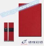 Alto lustre VCM/hoja de acero que lamina de la película del PVC para las puertas del refrigerador