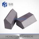 La dimensión de una variable y la talla especiales del carburo de tungsteno cubrieron con bronce extremidades